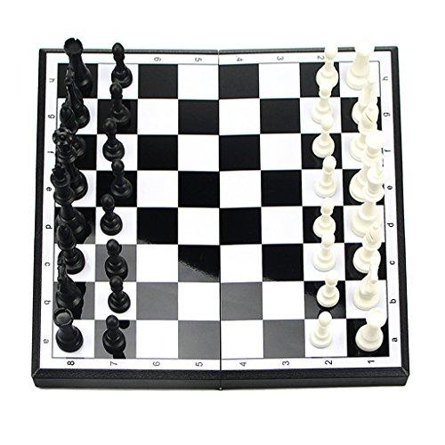 Fenteer 知育 おもちゃ クラシック玩具 大型 磁気 旅行 国際チェス