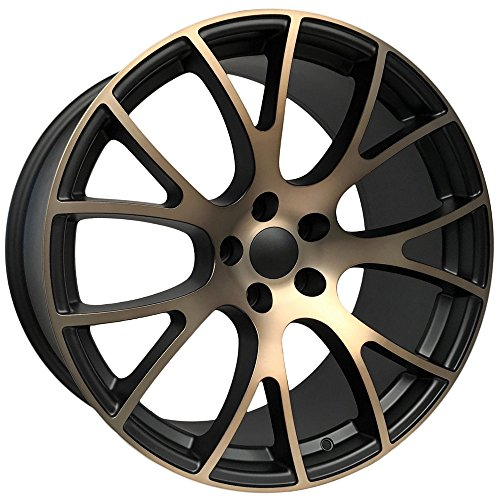 OE Performance 161BB 22x9 5x115 +18mm Black/Bronze Wheel Rim 22