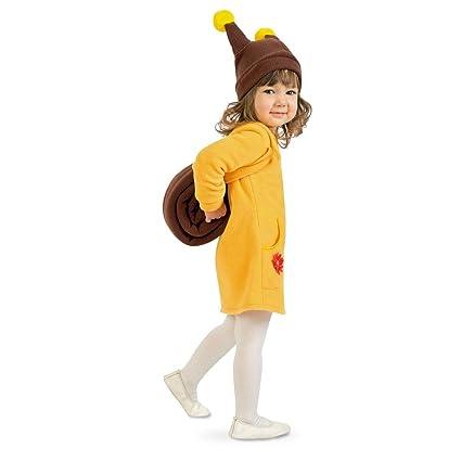 Tierno disfraz de caracol para niños - Amarillo-marrón 99 - 104 cm ...
