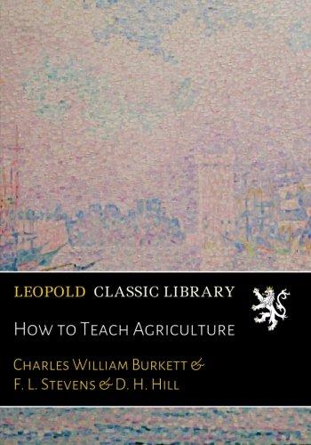 How to Teach Agriculture