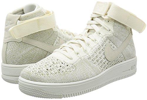 Grey Pale Sneaker Sail Herren Turnschuhe Beige Ultra Nike Air 1 für Force Schuhe Flyknit 7wxS4Oq