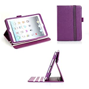 Poetic Dura Book Case for the Apple iPad Mini Purple (3 Year Manufacturer Warranty From Poetic)