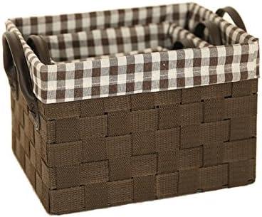 xmz – Caja de almacenaje (Exterior/Interior Muebles de jardín (ratán, de Las Cajas de Almacenamiento de baúles de Almacenamiento 14.5 * 12 * 11 cm: Amazon.es: Hogar