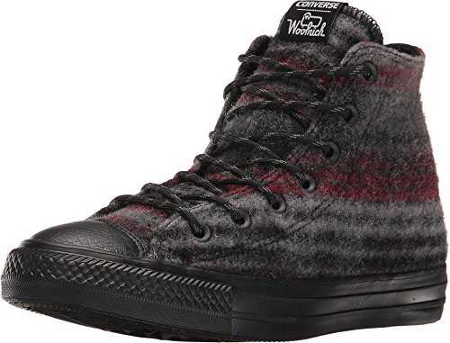 Converse Chuck Taylor All Star Woolrich Street Hiker Hi Mens fashion-sneakers c_153836C-020_11 - (Converse Black Hiker)