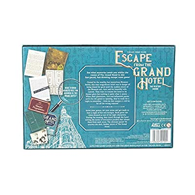Professor Puzzle Escape from The Grand Hotel - Escape Room Game - Multiplayer Brain Teasing Game / Escape The Room Game: Toys & Games