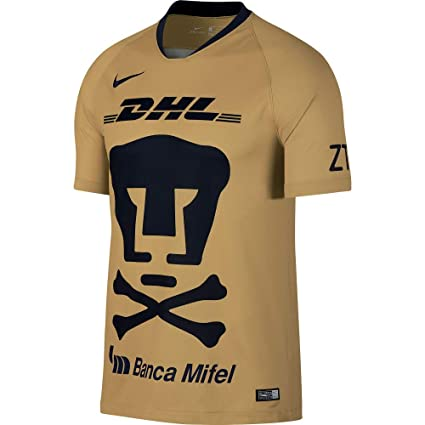 Amazon.com   Nike Pumas UNAM 2018-2019 Day of The Dead Home Soccer ... 9aba43cce