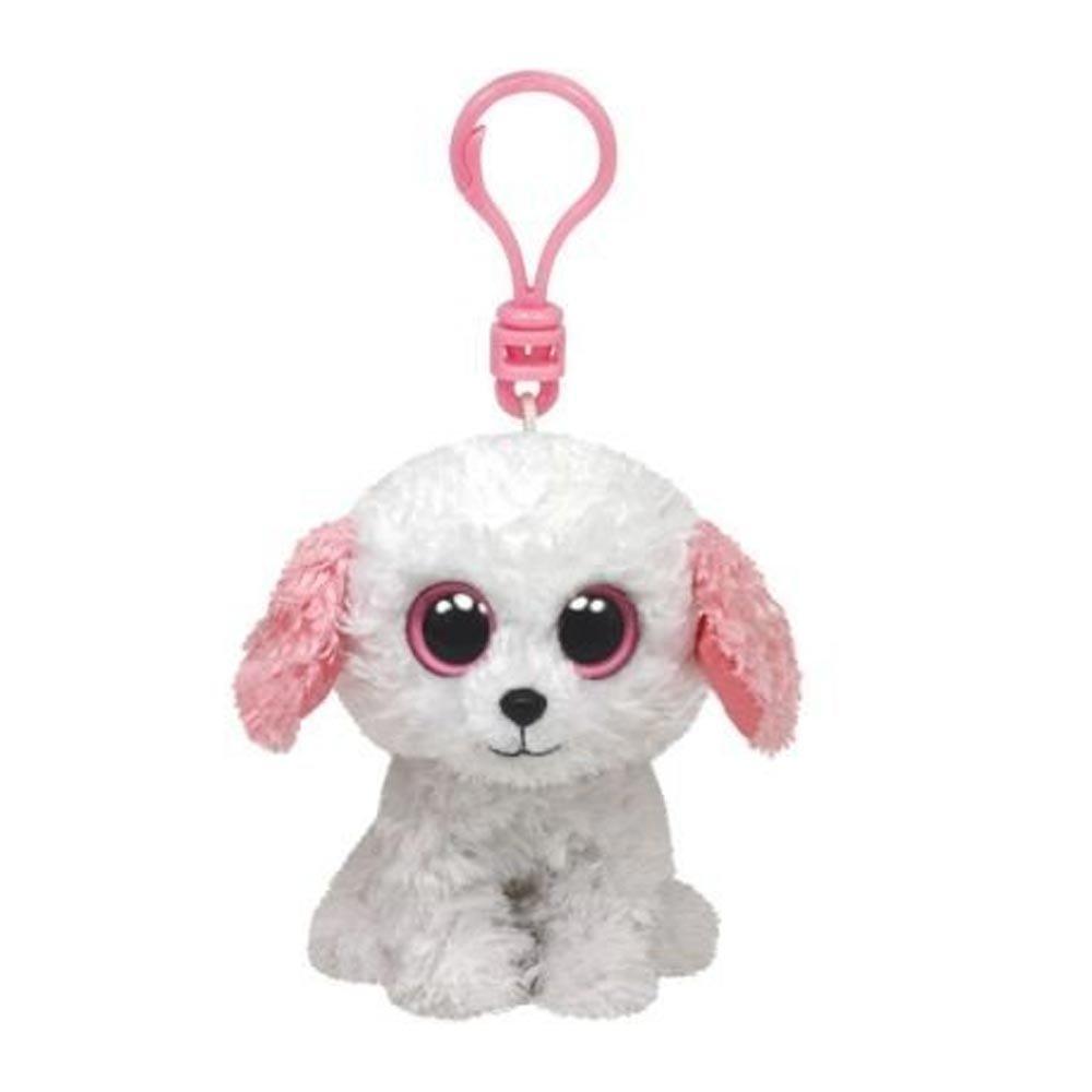 Ty Beanie Boos Diva White Dog Clip 36575