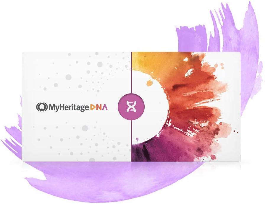 MyHeritage DNA Kit de Pruebas - Pruebas Genéticas de Ancestros y Etnicidad