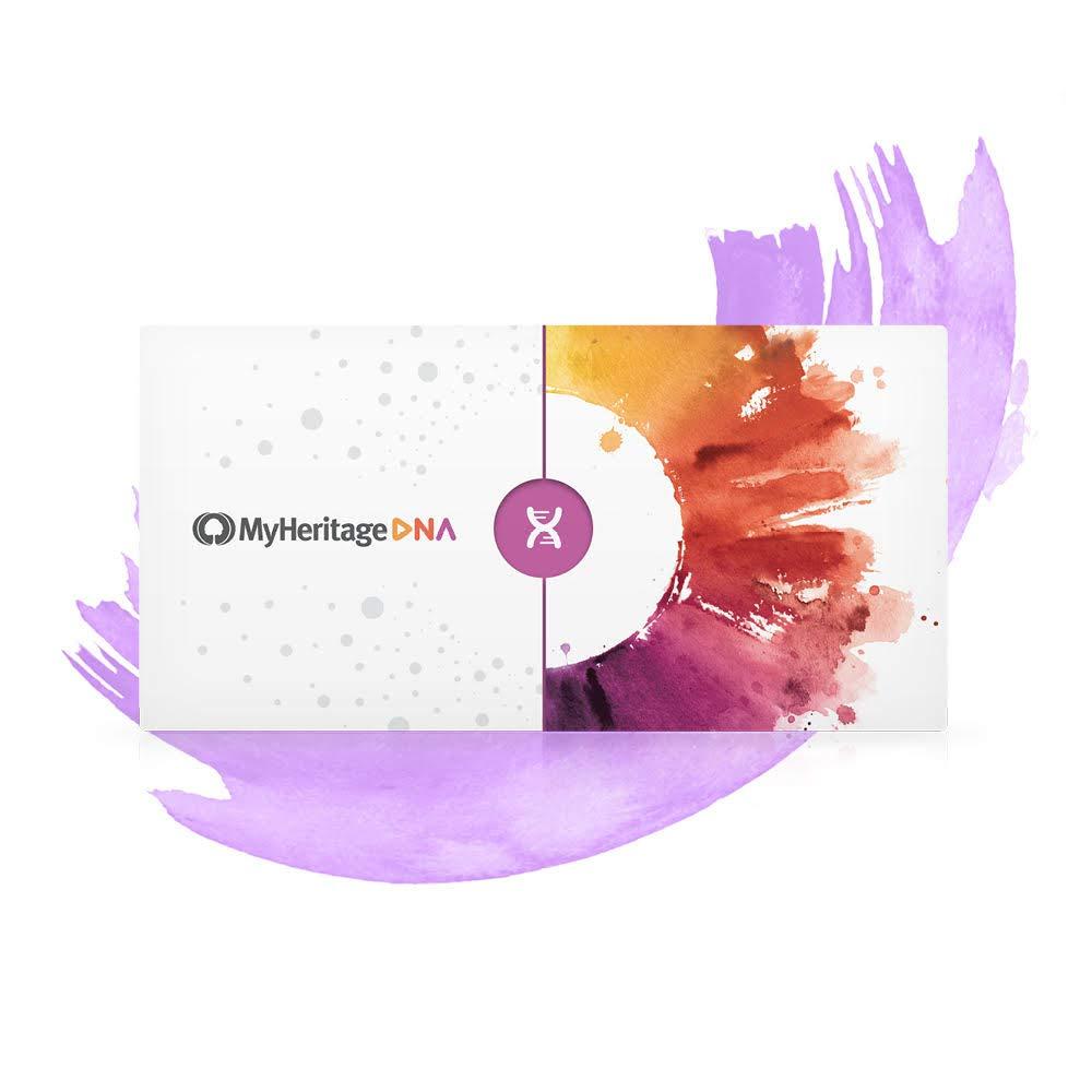 MyHeritage DNA Test Kit — Gentest für die Familienforschung Bild