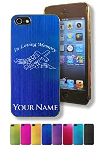 Apple iPhone 6 plus 5.5 Case/Cover - IN LOVING MEMORY - Personalized for FREE (Click the CONTACT SELLER button after purchase and send a message with your case color and engraving request)