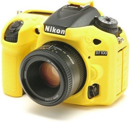 Bilora EasyCover - Carcasa para cámara Nikon D7100, Color Amarillo ...
