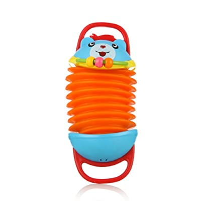 Novobey Funny Musical Instrument Accordion Toy Educational Toy For Baby 6 Months and Up: Toys & Games