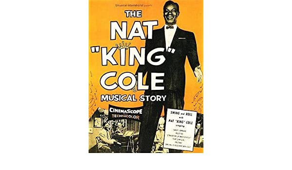 Nat King Cole Fantastic New Repro POSTER