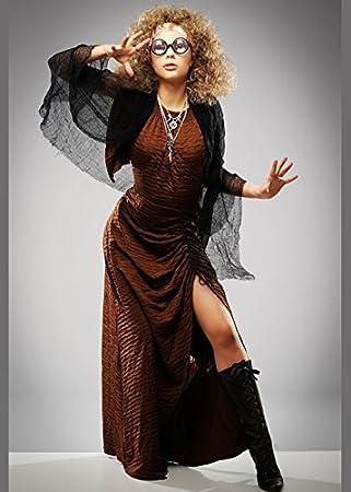 Magic Box Disfraz de Maestro de adivinación Sybill Trelawney Style con Peluca
