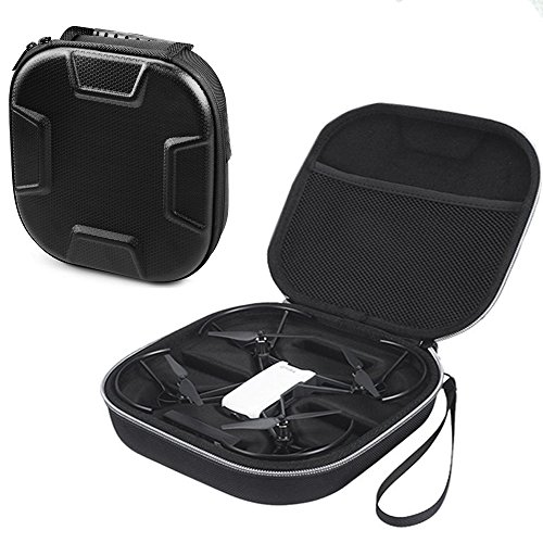 Esimen Hard Trave Case for DJI Tello Carry Bag Protective Box,Fits Extra Battey and Controller (Black)