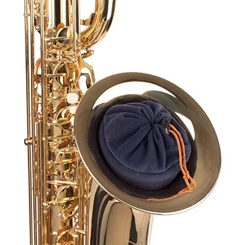 Protec Baritone Sax In-Bell Storage Pouch for Neck, Mouthpiece, and Other Accessories (A314) ()