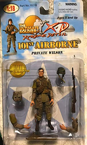 21st Century Toys Ultimate Soldier 101st Airborne Private Wilson Figure 1:18 21st Century Toys Ultimate Soldier