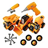 Take Apart Truck Toys Construction Tool Set For Boys and Girls -Toy Truck