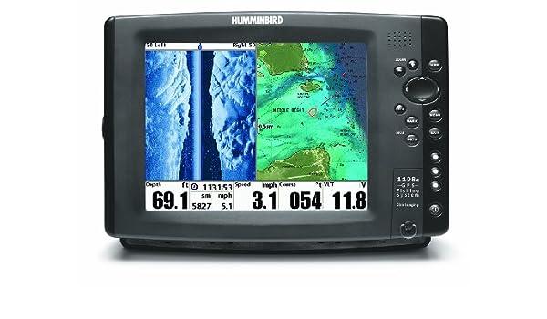 Humminbird 1198cx si Combo Colour fishfinder/Plotter Side/Down ...