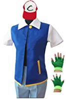 SAIANKE Costume Hoodie Cosplay Jacket Gloves Hat Sets for Trainer