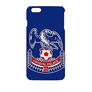 Crystal Palace Football Club Logo Design 3D Hard Plastic Case Cover For Iphone 6Plus