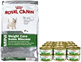 Royal Canin Size Health Nutrition Mini Weight Care Bundle