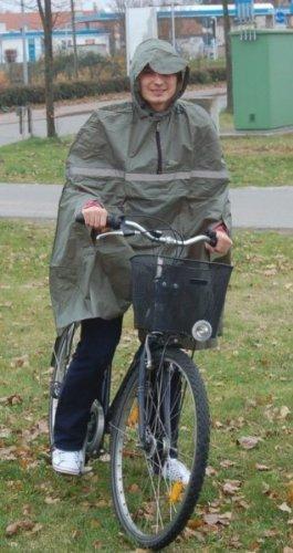 Fahrradregencape verschiedene Farben OLIV wTiAs7