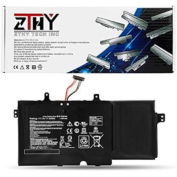 ZTHY 48Wh/4110mAh B31N1402 Laptop Battery for ASUS Q551 Q551L Q551LN Q551LN-BBI706 BSI708 Q552UB Q552UB-BHI7T12 N591LB B31BN9H Series 0B200-01050000 ...