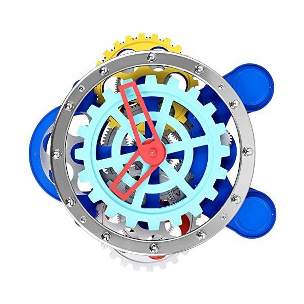 SevenUp Gear Clock-Premium Plastic and Metal Parts Material 3