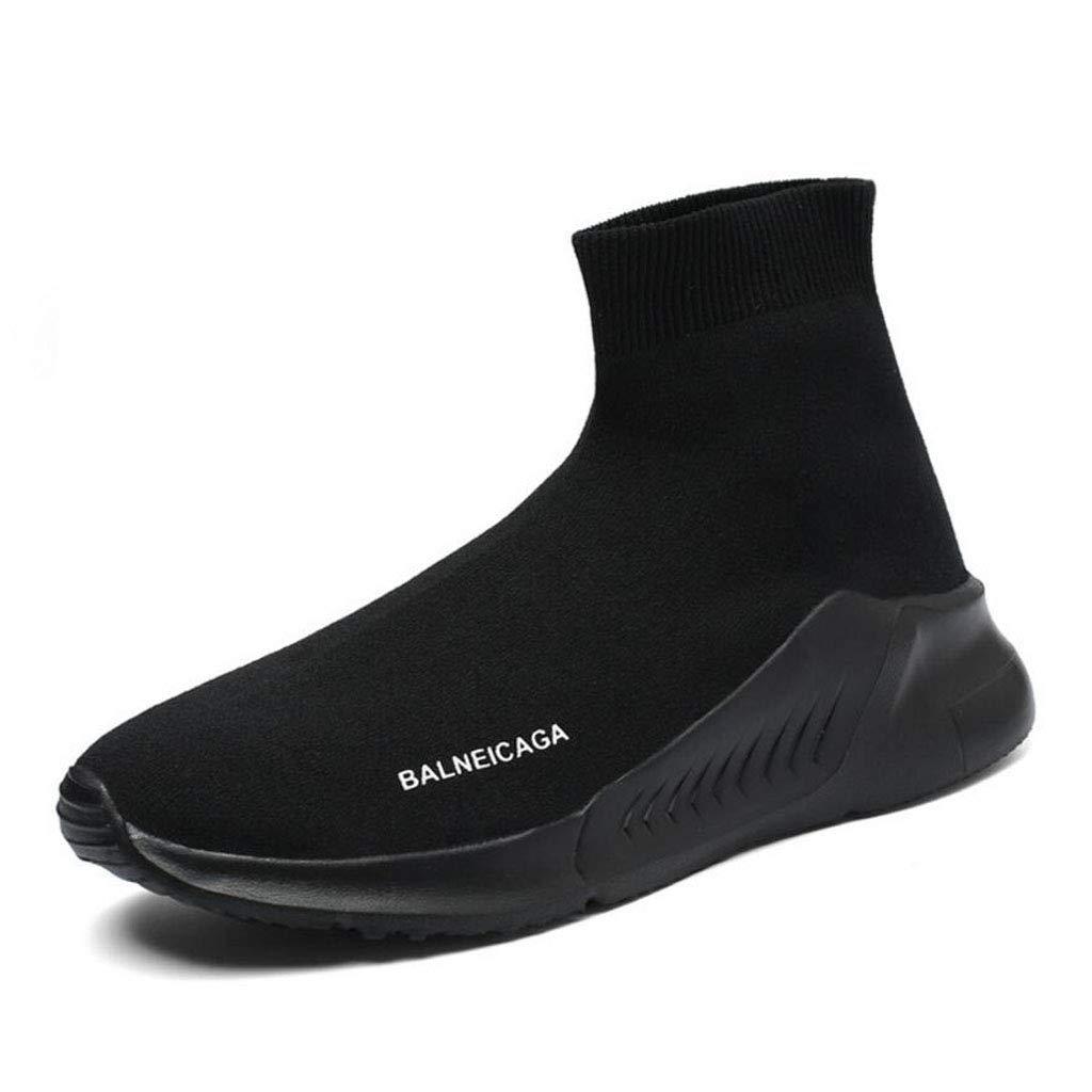 Xxoshoe Sneakers Mode pour Hommes Ultra l/égers et Respirants Chaussures de Course athl/étique d/écontract/ée Chaussettes tricot/ées Chaussures