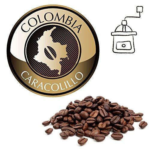 Café Oro Gourmet Colombia Caracolillo Tueste Natural 1000g - En Grano para moler al gusto: Amazon.es: Alimentación y bebidas