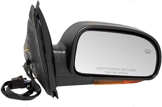 Aftermarket Replacement Drivers Side View Mirror Glass Compatible with Ascender Bravada Envoy 9-7X Rainier Trailblazer