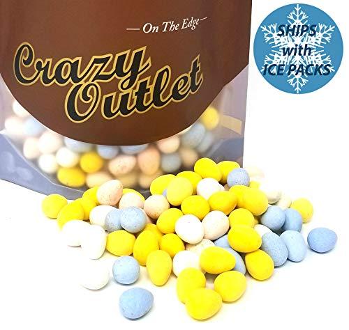 - CrazyOutlet Pack - Cadbury Mini Eggs Milk Chocolate Crunch Shell, Bulk Candy, 3 lbs
