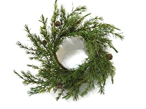 Pine Christmas Wreaths with Mini-Pinecones BUYERS