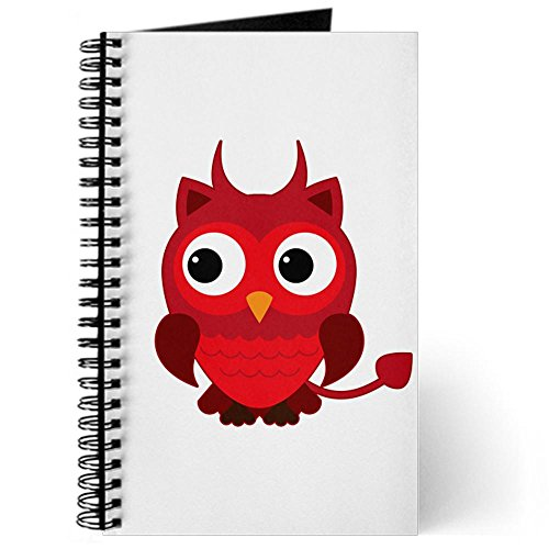 [Journal (Diary) with Little Spooky Owl Devil Monster on Cover] (Hades Child Costume)
