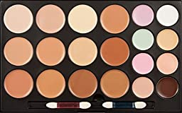 Cosmetics Cream Concealer Palette, KRABICE 20 Color Makeup Dark Circle Concealer Cream Make Up Foundation Makeup Palette Set