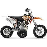 Adjustable Height KTM 50 KTM50 Mini Adventure Kids Youth TRAINING WHEELS ONLY