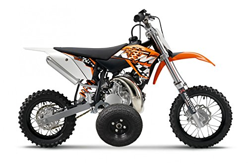 Adjustable Height KTM 50 KTM50 Mini Adventure Kids Youth TRAINING WHEELS ONLY