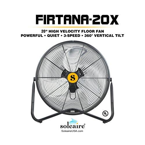 "51kEs5BOy1L B-Air FIRTANA-20 X 20"" Multi Purpose High Velocity Floor Fan"