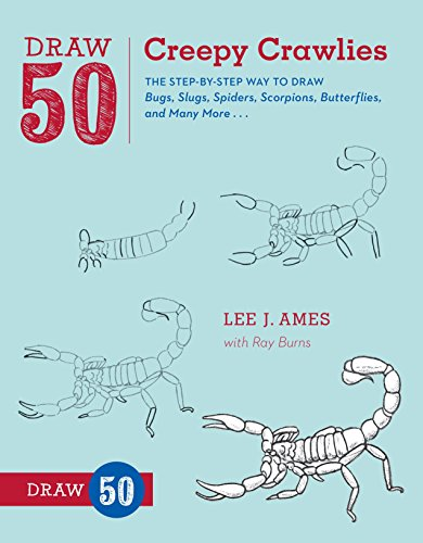 Draw 50 Creepy Crawlies teaches aspiring artists how to draw with ease by following simple, step-by-step instructions. Celebrated author Lee J. Ames shows you how to draw a swarm of flying and crawling creatures. Here, you'll find dozens of insects a...