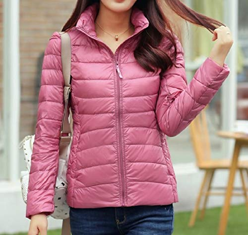 AS2 Stand Coat Lightweight Size Down Ultra MogogoWomen Collar Plus Packable IvTxAqzA