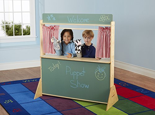 Child Play Theater (Childcraft Play Store and Puppet Theater, 45-1/2 x 19-1/2 x 50-3/4 Inches)