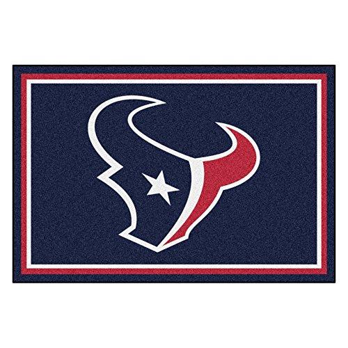 FANMATS NFL Houston Texans Nylon Face 5X8 Plush Rug by Fanmats (Image #5)