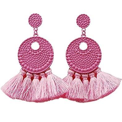 buen servicio lindo baratas descuento más bajo Yiyue Señoras Moda Aretes Elegantes Aretes Aretes 925 Orejas ...