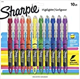 Sharpie Liquid Highlighters, Chisel Tip, Assorted Colors, 10 Count: more info