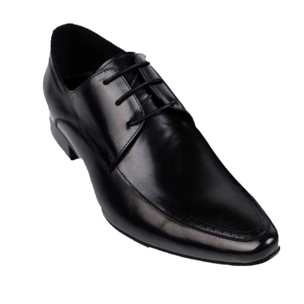 XYCSZQ Atmungsaktive England Herren Formelle Kleidung Lederschuhe Einzelschuhe Atmungsaktive XYCSZQ Spitze Spitze England schwarz cbeaca