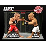 Round 5 UFC Versus Series 2 LIMITED EDITION Action Figure 2Pack Georges St. Pierre Vs. BJ Penn UFC 58