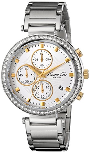 - Kenneth Cole New York Women's 10019755 Stainless Steel Chronograph Watch (Amazon Exclusive)