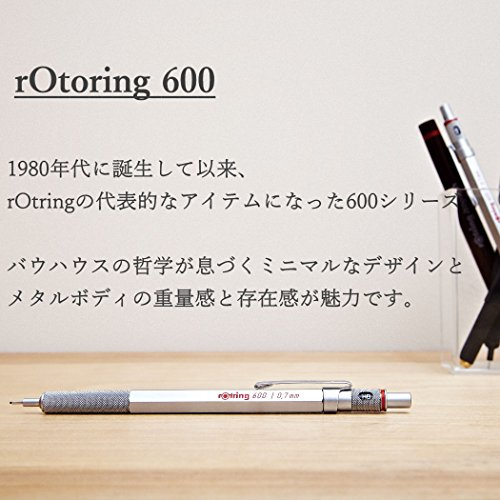 rOtring 600 2mm Drop Pencil Refill, Silver (S0502621) by Rotring (Image #1)