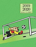 2019 2020 Soccer Football 15 Months Daily Planner: Academic Hourly Organizer In 15 Minute Interval; Appointment Calendar With Address Book & Note Section; Monthly & Weekly Goals Journal With Quotes